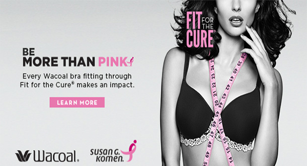 Wacoal Fit for the Cure – First Colony