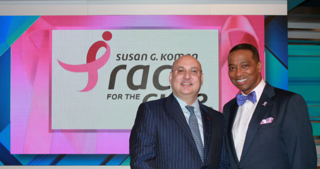 Khambrel Marshall and Gilbert Garcia to Co-Chair Komen Houston Race for the Cure