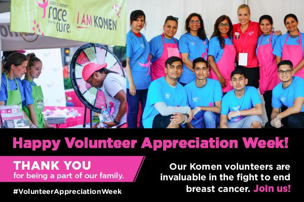 Happy Volunteer Appreciation Week!